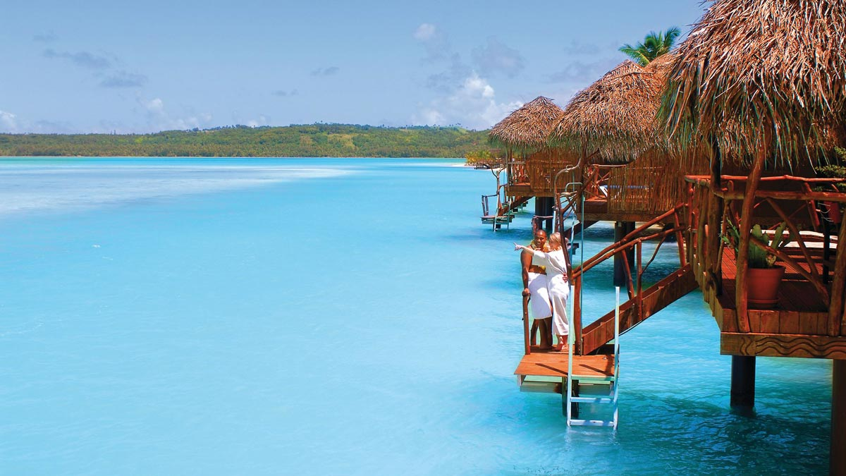 Aitutaki Lagoon Resort and spa.